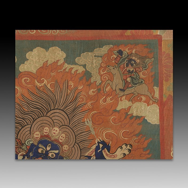 Chinese Qing Dynasty Painting Buddhist Thangka - 4
