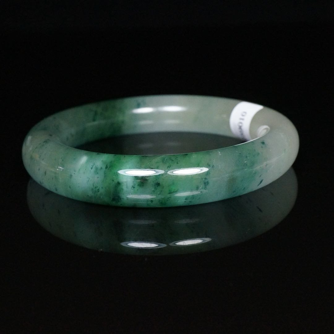 Chinese Jade Bangle Bracelet - 5