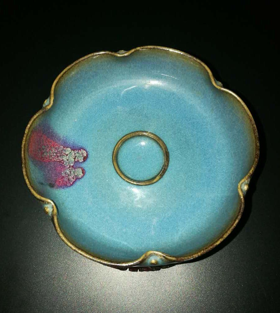 Chinese Junyao Glazed Porcelain Bowl