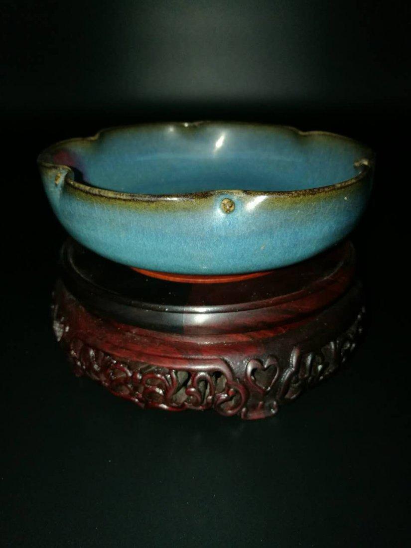 Chinese Junyao Glazed Porcelain Bowl - 4