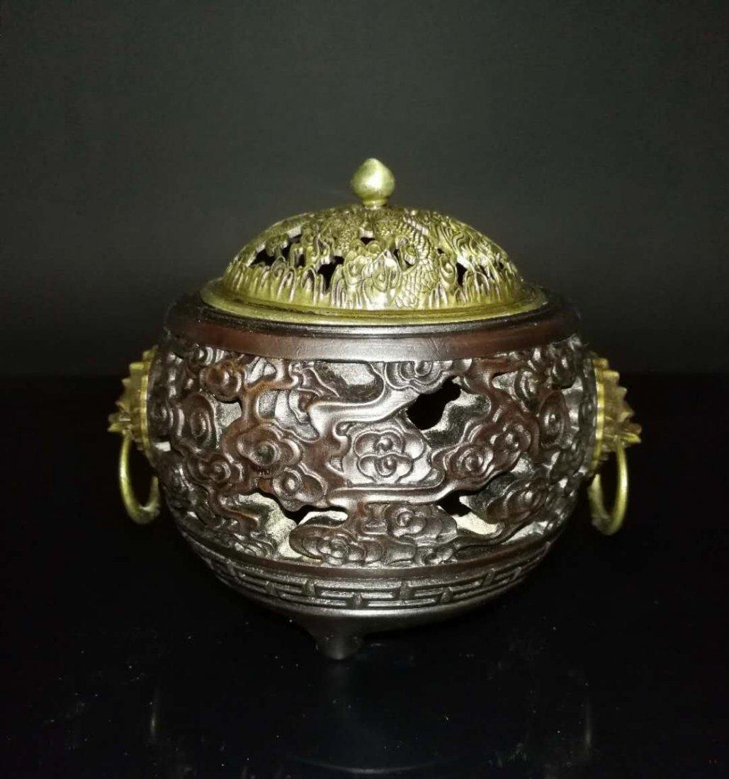 Chinese huang huali wood box