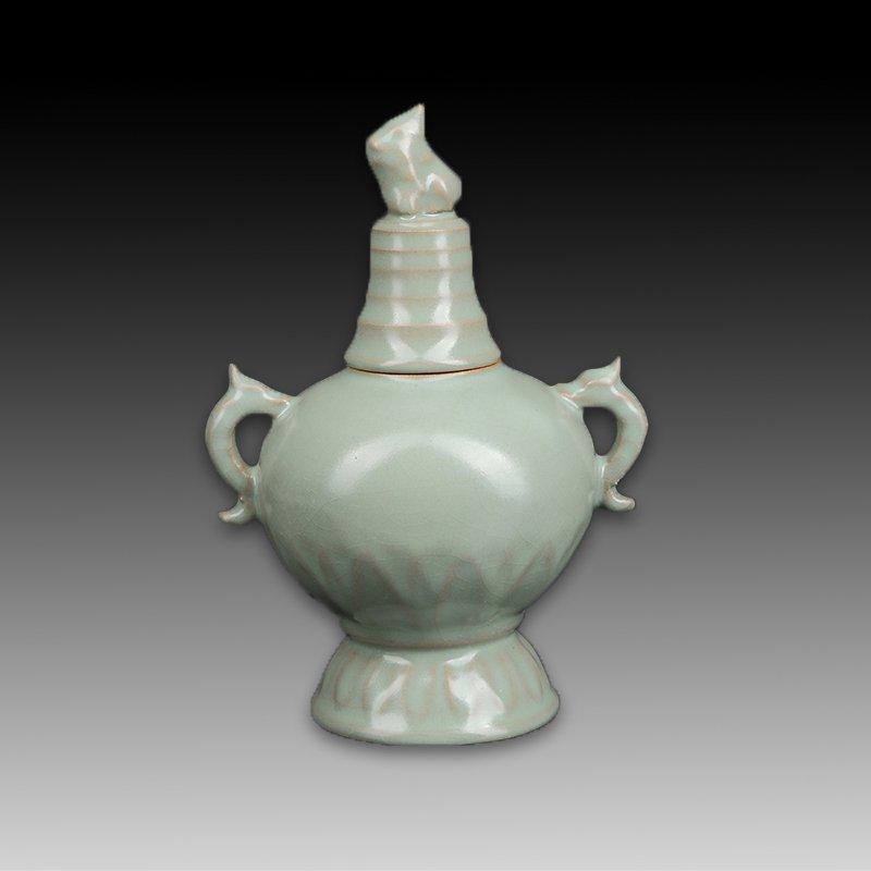 Chinese Ru kiln Porcelain Vase - 4