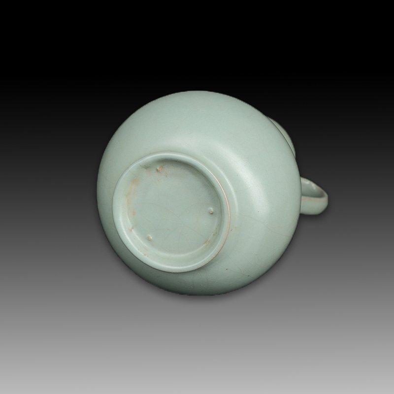 Chinese Ru kiln Two ears Porcelain Vase - 3