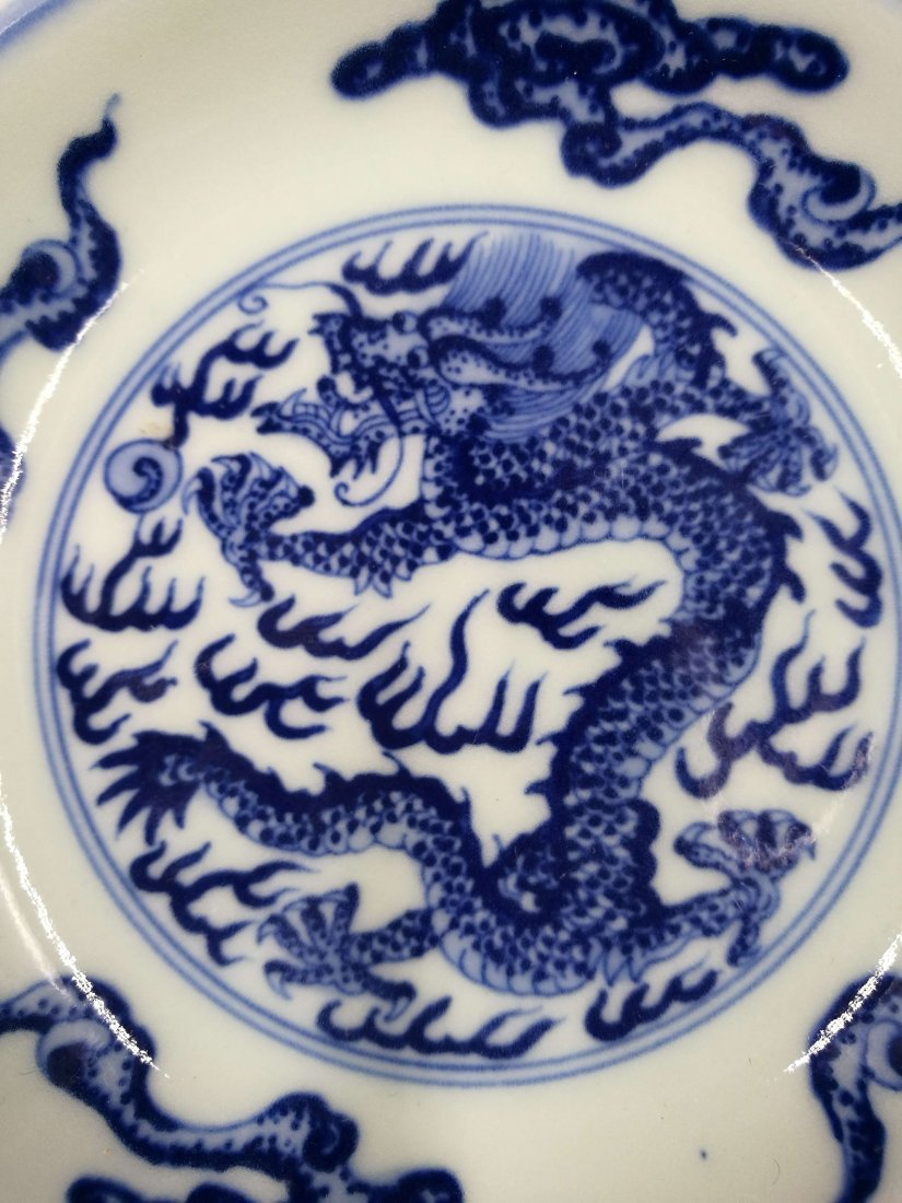 Chinese Blue And White Porcelain Small  Plate - 5
