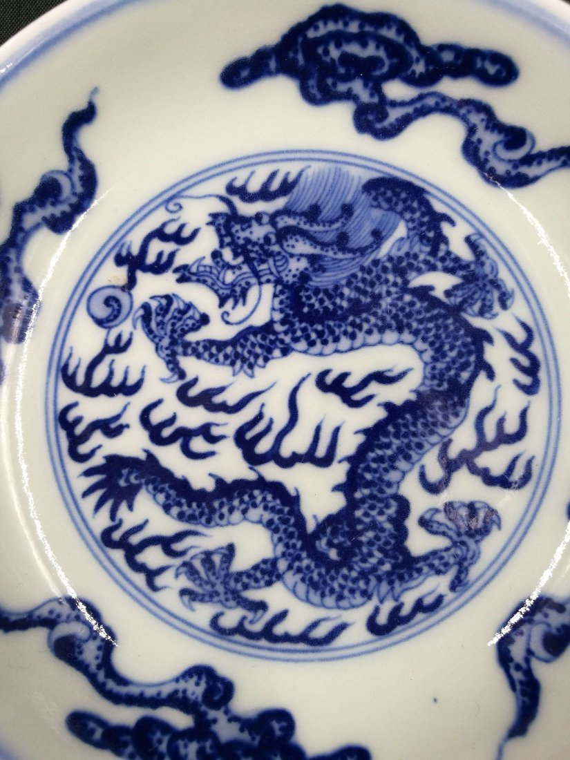 Chinese Blue And White Porcelain Small  Plate - 6