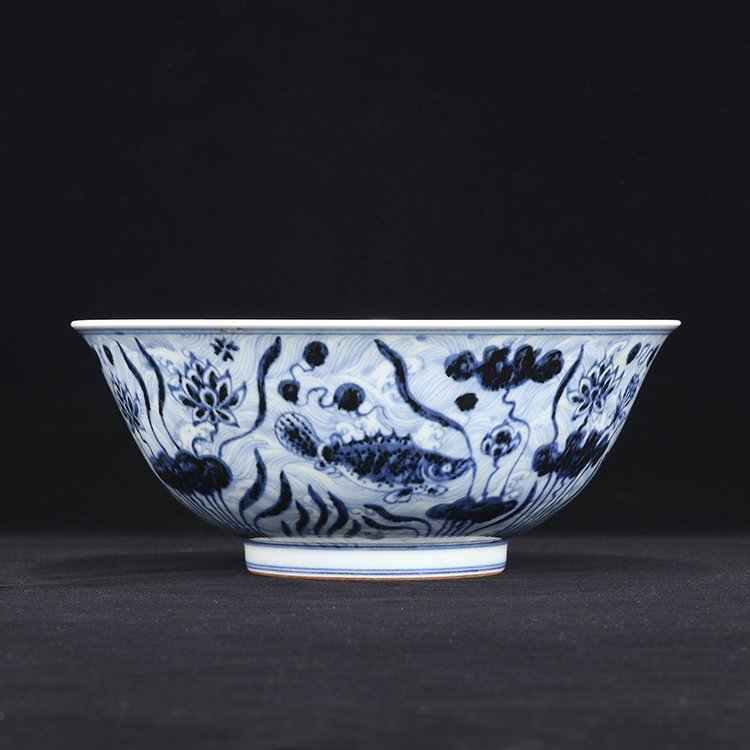 Large of Chinese Blue And White Porcelain Bowl