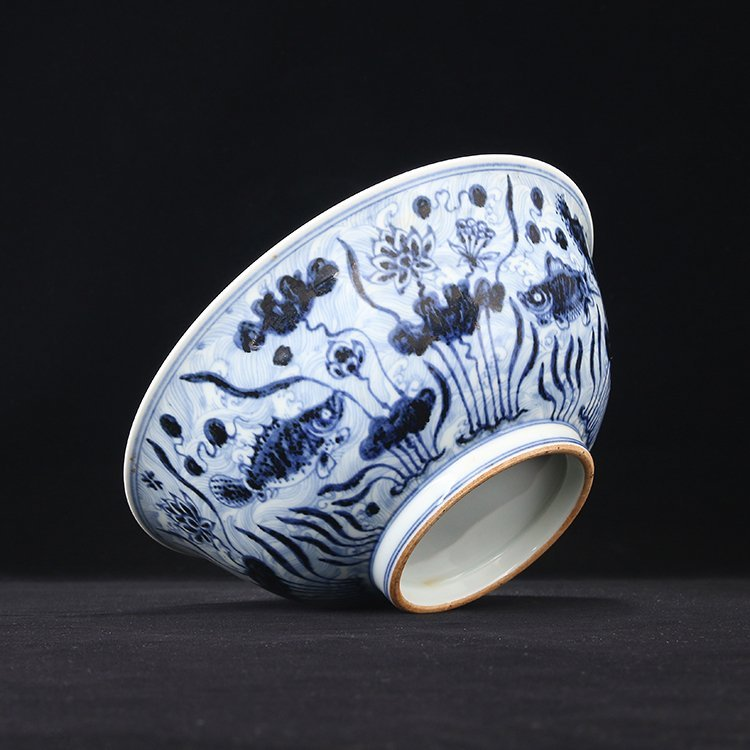 Large of Chinese Blue And White Porcelain Bowl - 4