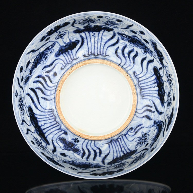 Large of Chinese Blue And White Porcelain Bowl - 6