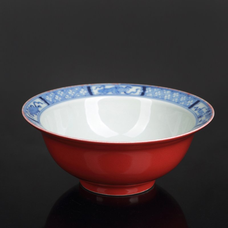 Chinese Blue And White Porcelain Bowl
