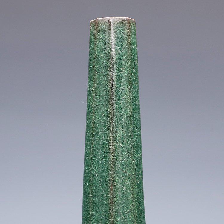 Chinese Guan kiln Green Porcelain Vase - 2