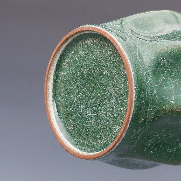 Chinese Guan kiln Green Porcelain Vase - 5