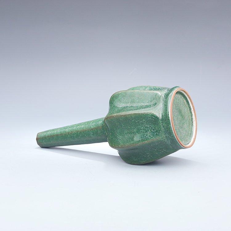 Chinese Guan kiln Green Porcelain Vase - 7