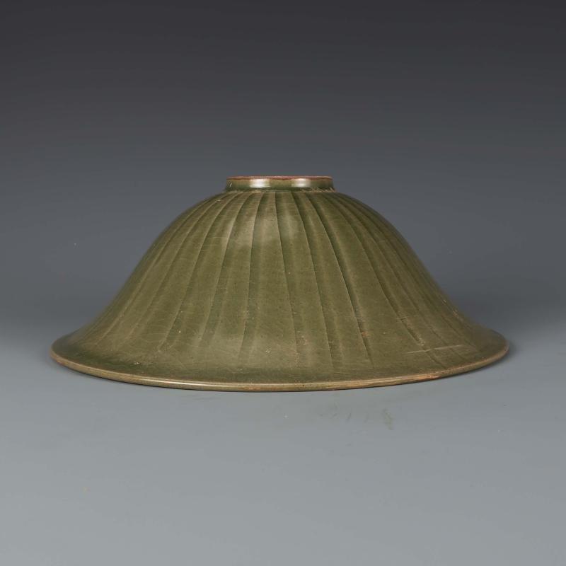 Chinese  Yaozhou kiln Sculpture Porcelain Bowl - 5