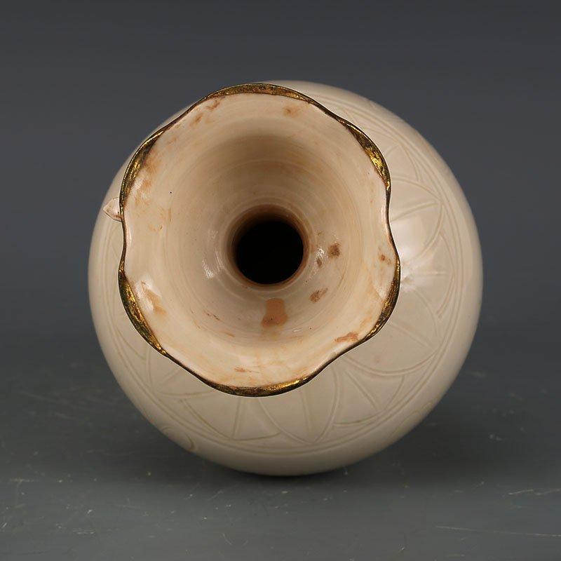 Chinese Ding Kiln Porcelain Vase - 5