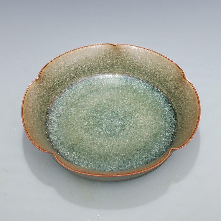 Chinese Guan kiln Porcelain Plate - 4