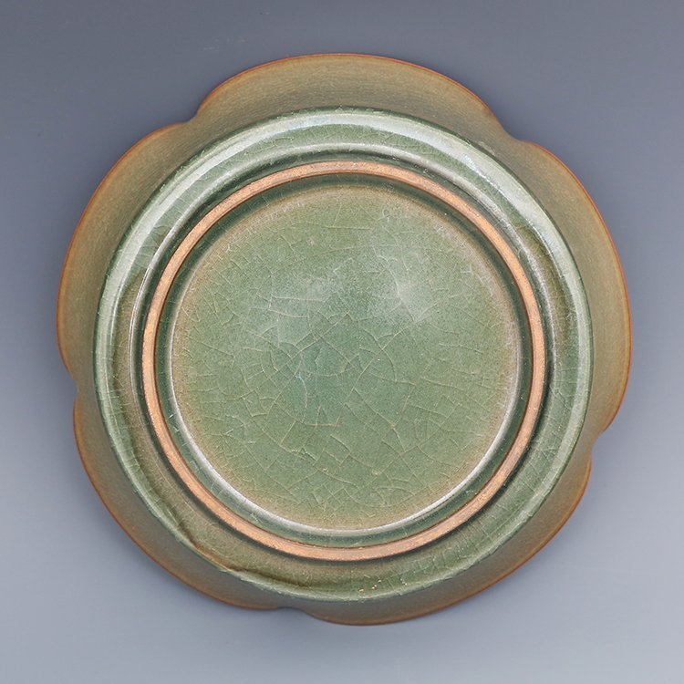 Chinese Guan kiln Porcelain Plate - 5
