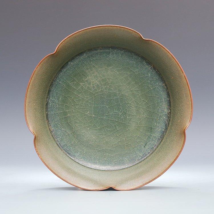 Chinese Guan kiln Porcelain Plate - 8