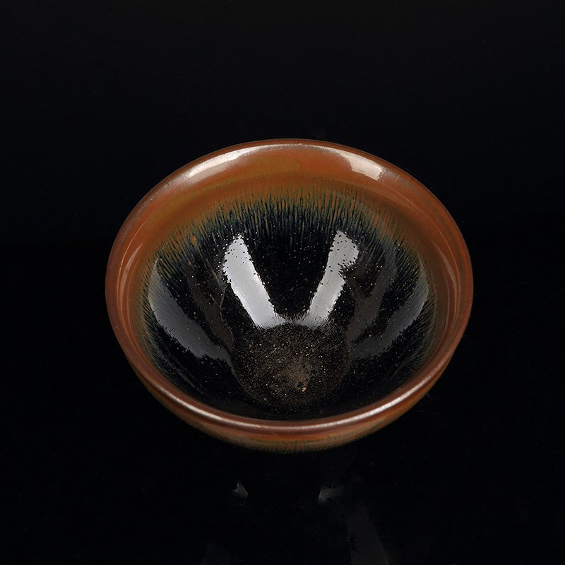 Chinese Pottery Tea Bowl - 4