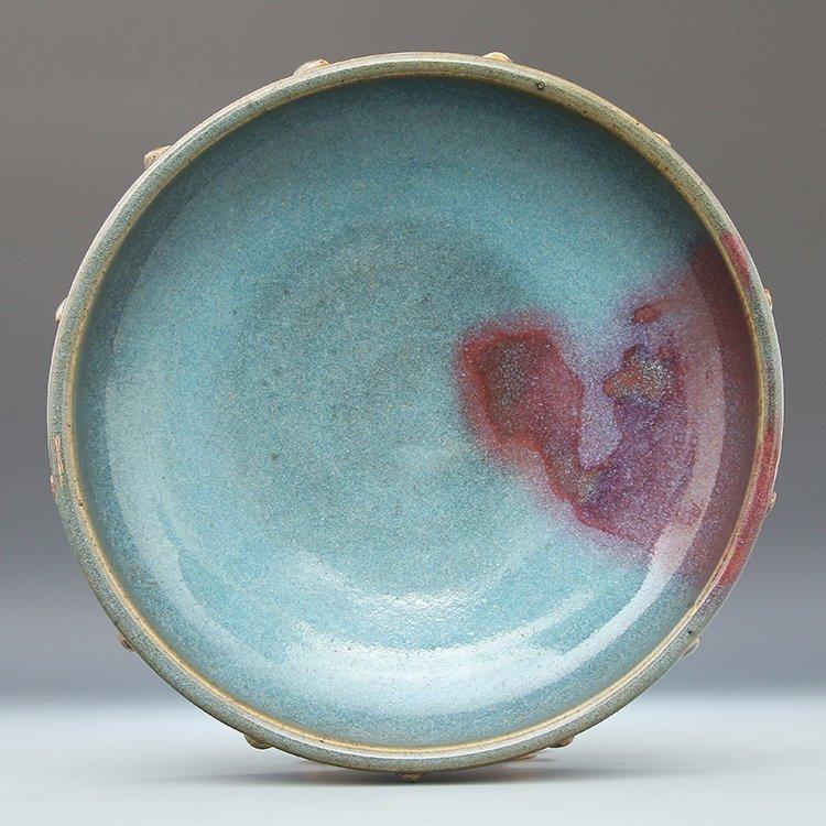Chinese Jun Kiln Porcelain Brush Washer