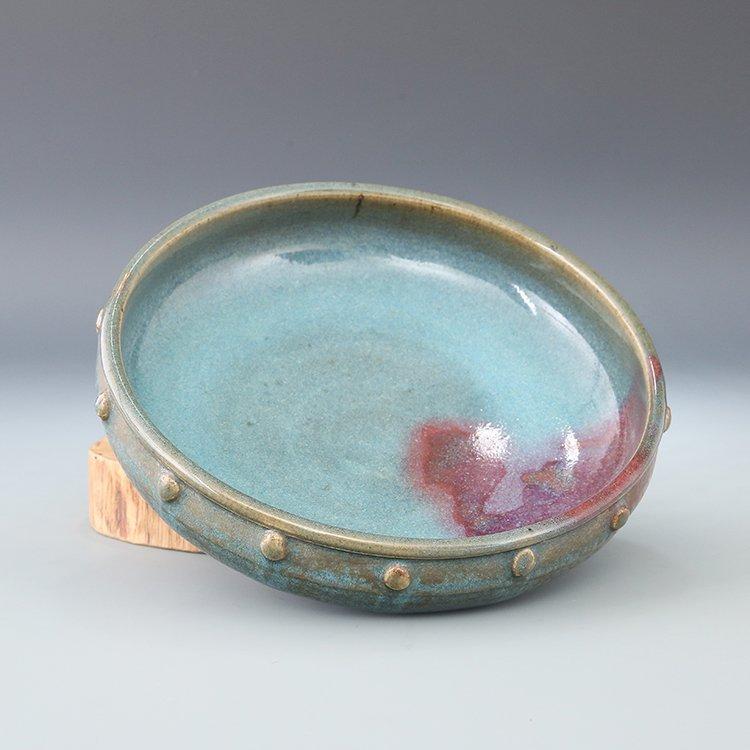 Chinese Jun Kiln Porcelain Brush Washer - 2