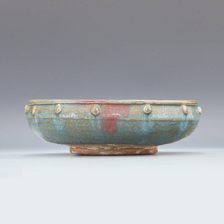 Chinese Jun Kiln Porcelain Brush Washer - 4