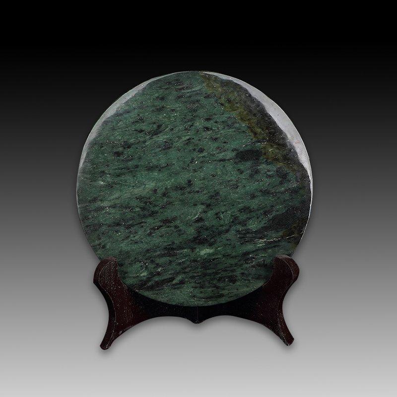 Chinese Hetian Jade Bi(disc) - 3