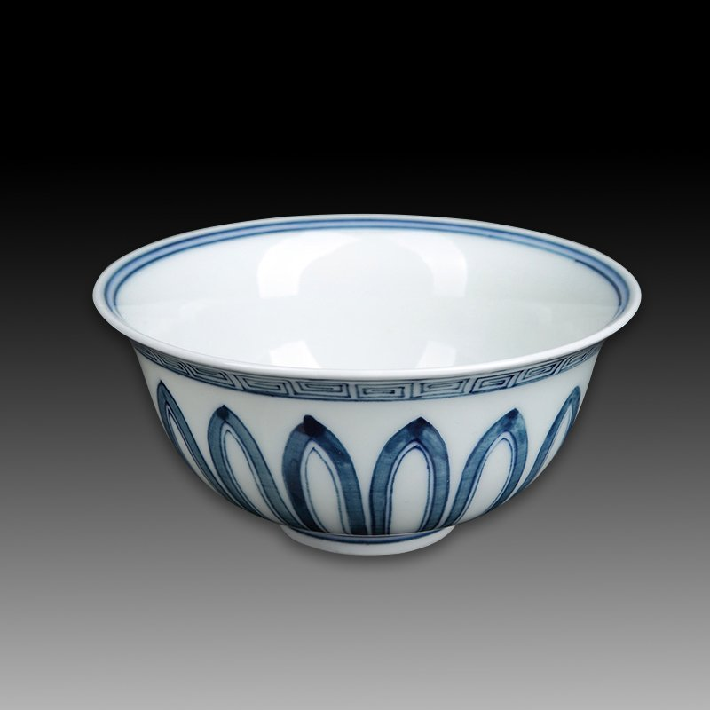 Chinese Ming Blue And White Porcelain Bowl