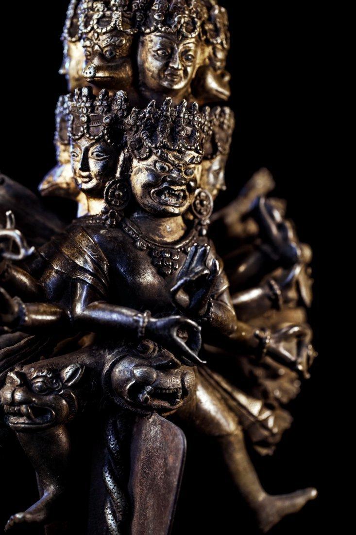 Chinese Qing Dynasty  Bronze Buddh - 3