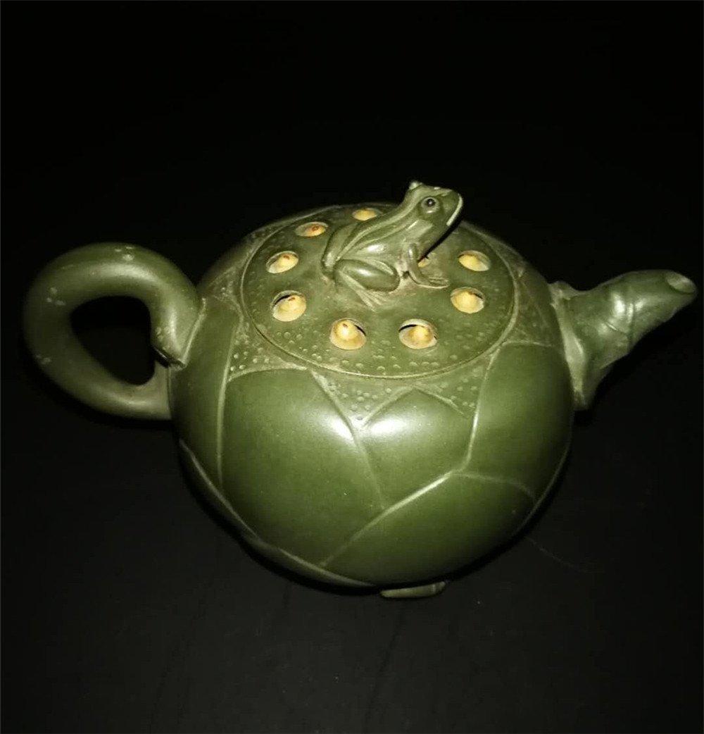 Chinese zisha teapot and cover.(Mark of Jiang Rong) - 2