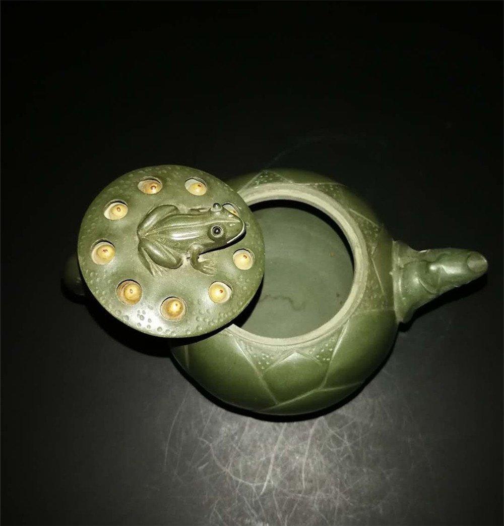 Chinese zisha teapot and cover.(Mark of Jiang Rong) - 4