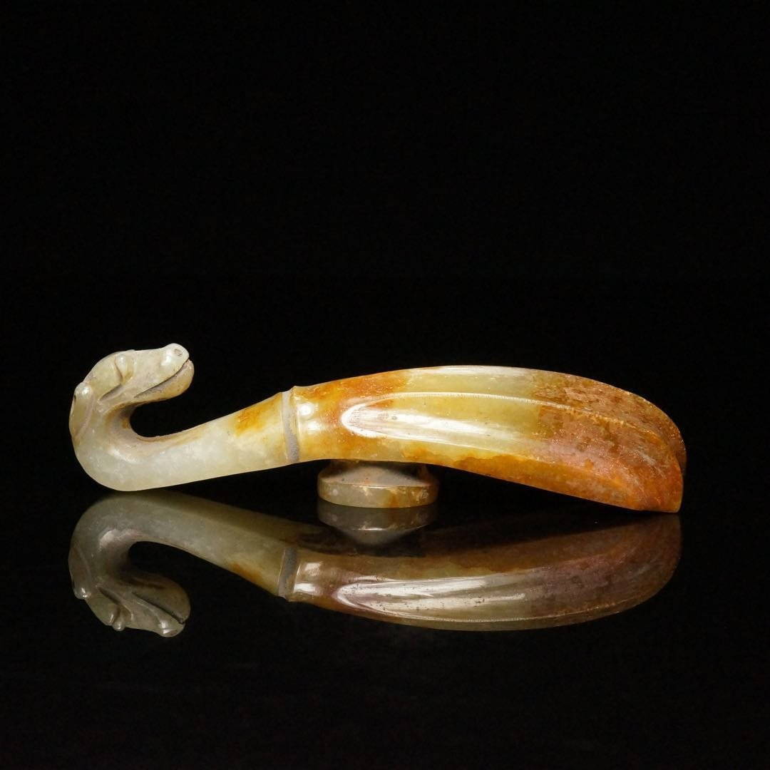 Chinese Jade Belt Hook