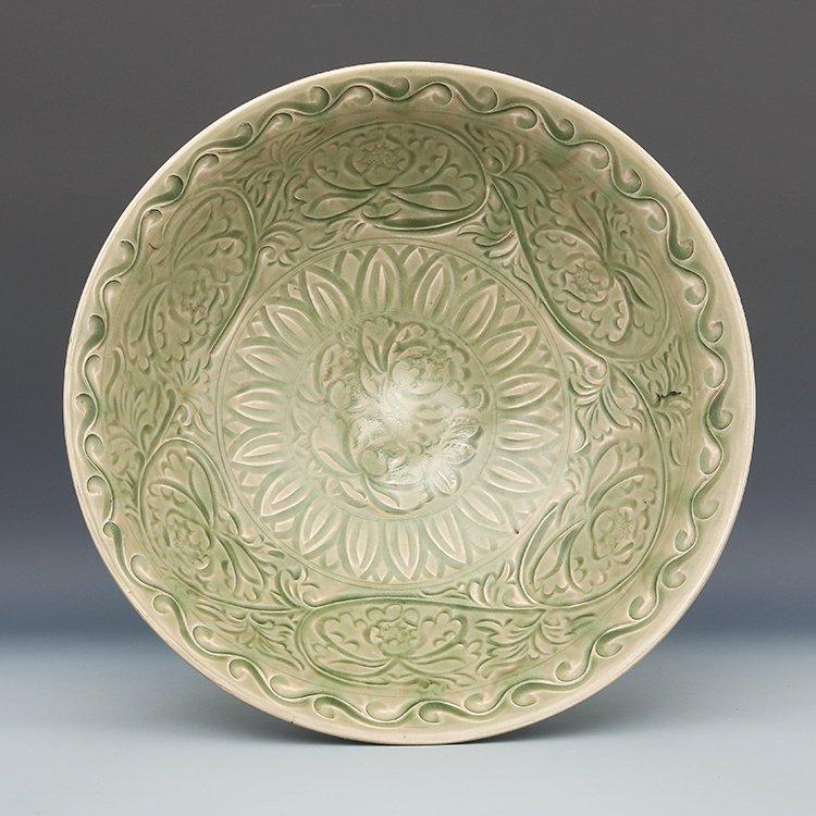 Chinese  Yaozhou  Kiln Porcelain Bowl