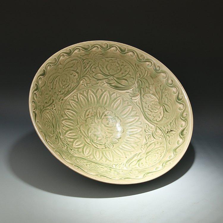 Chinese  Yaozhou  Kiln Porcelain Bowl - 3