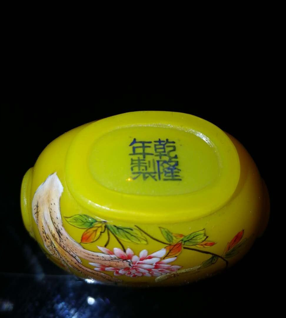 Chinese Glass Snuff Bottle - 4