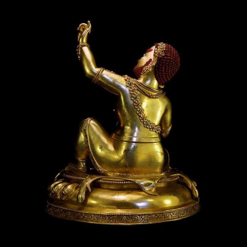 Chinese Qing Dynasty Buddha Mahasiddha - 4