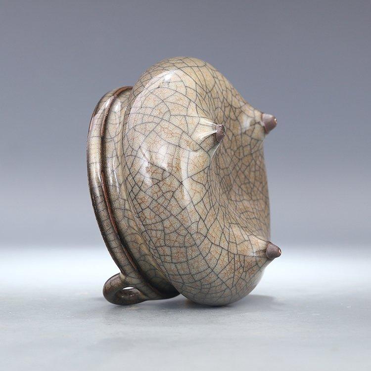 Chinese Ge kiln Porcelain  Tripod censer - 3