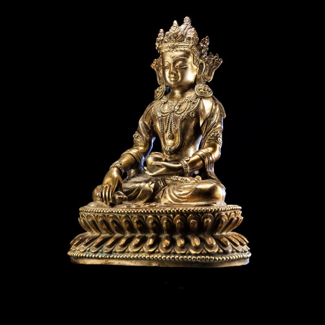 Chinese Ming Dynasty  Bronze Buddha - 4