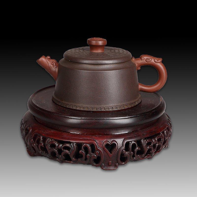 Chinese zisha teapot and cover