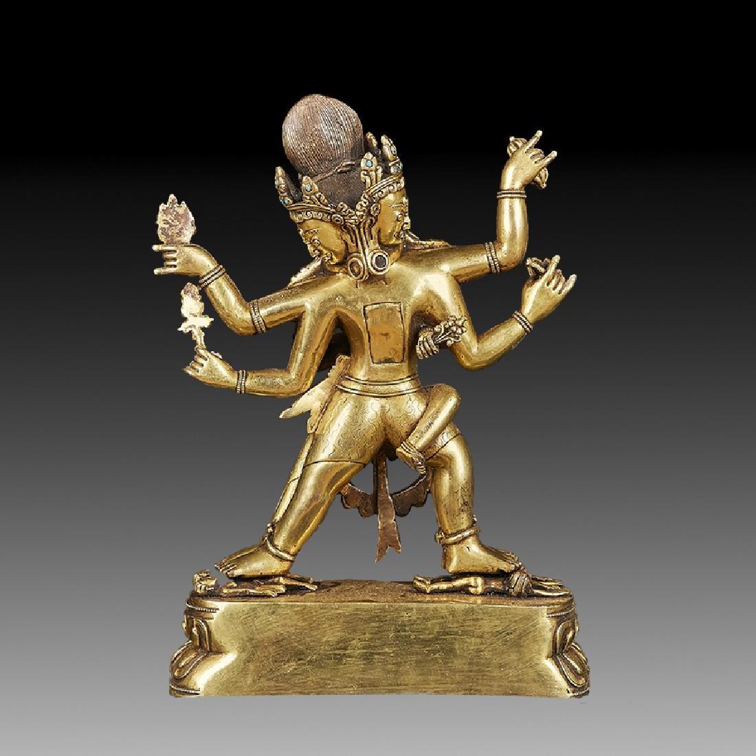 Chinese Ming Bronze Buddha Figure - 4