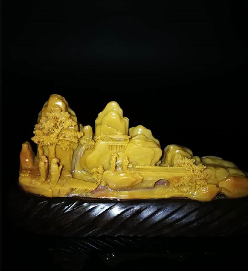Chinese Shoushan Stone Statue - 2