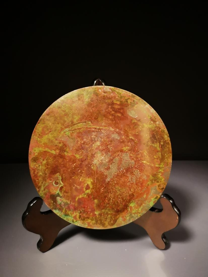 Chinese Circular  Bronze Mirror - 6