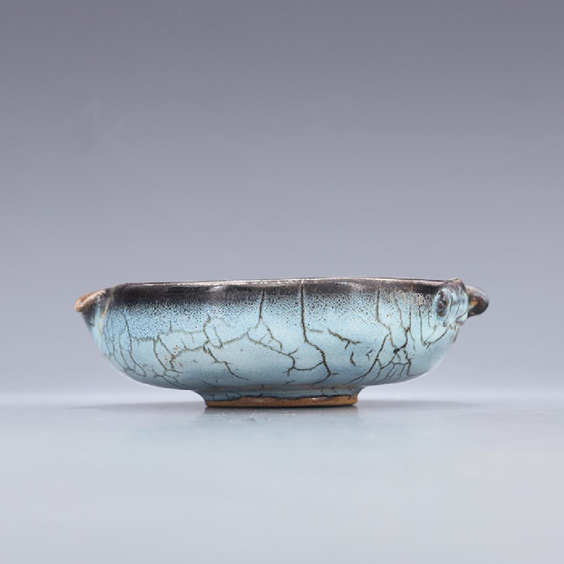 Chinese Jun kiln Porcelain Brush Washer - 7
