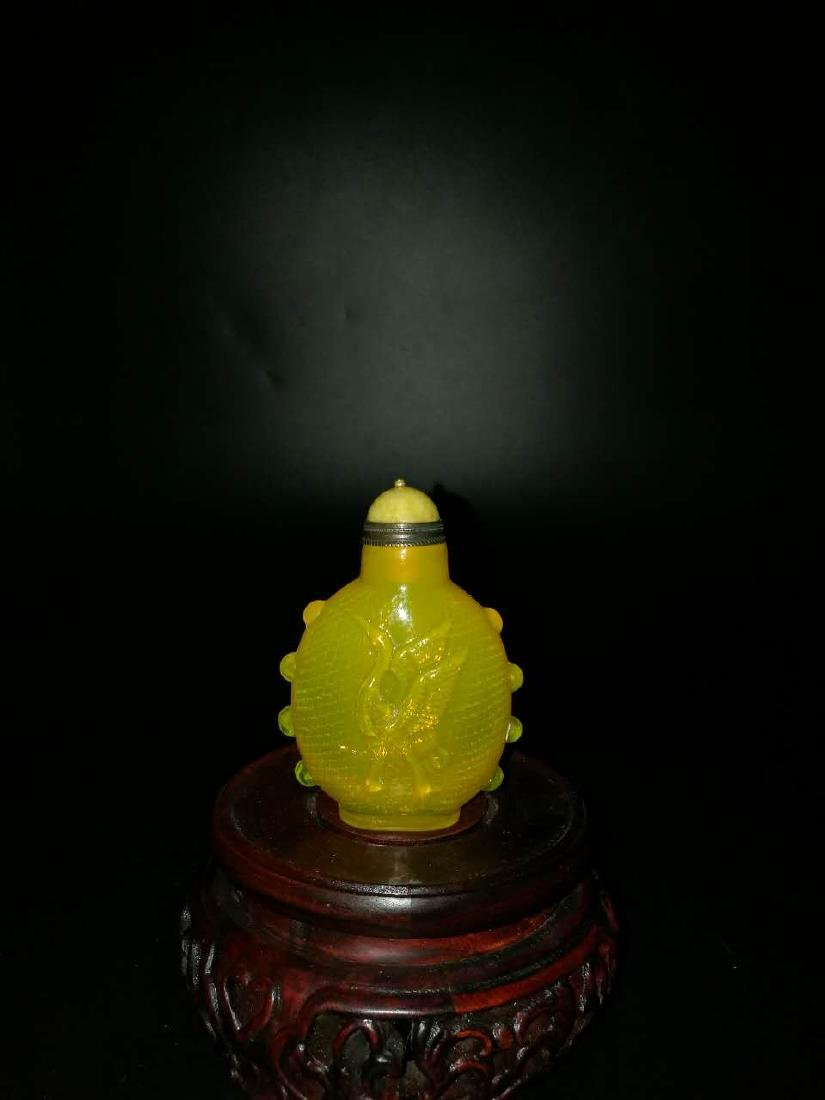 Chinese Glass snuff bottle - 2