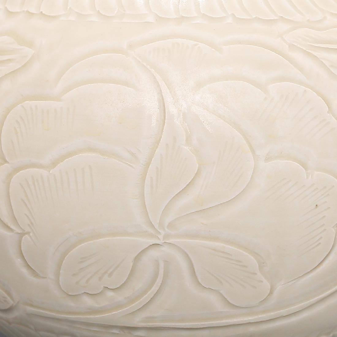 Chinese Ding Kiln Porcelain  Ginger Jar - 3