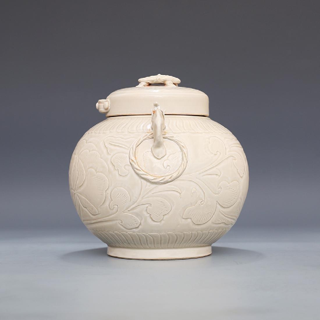 Chinese Ding Kiln Porcelain  Ginger Jar - 8