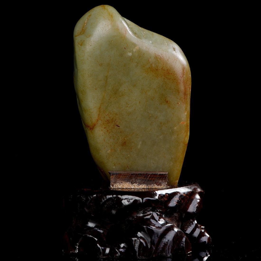 Chinese HeTian Jade Boulder - 5