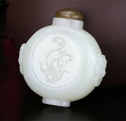 China Jade Snuff Bottle