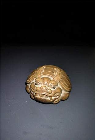 Chinese Zisha Tortoise