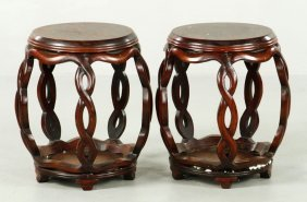 Two Chinese Stools