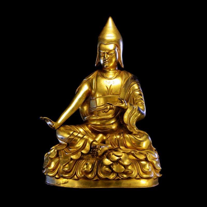 The Buddha in the Ming dynasty, bottom Atisa